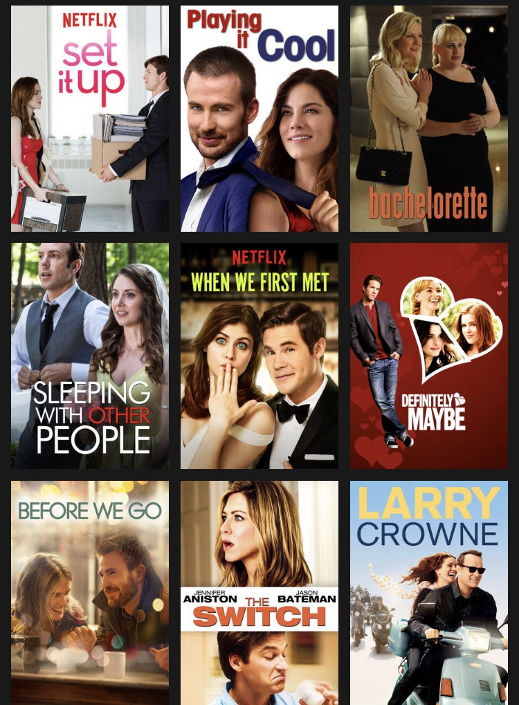 Accidentally in love // Netflix offers a variety of Rom-Coms to suit your desires, but the selection dwindles for those who have watched them all.