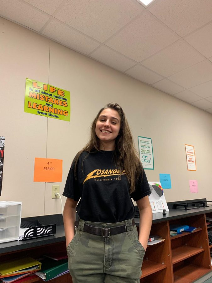 Lights, camera, action // Theatre serves as a big part of Emerson's school life but it is not just limited to school. Theatre, for her, extends into her life outside of Heath High  and she enjoys it.