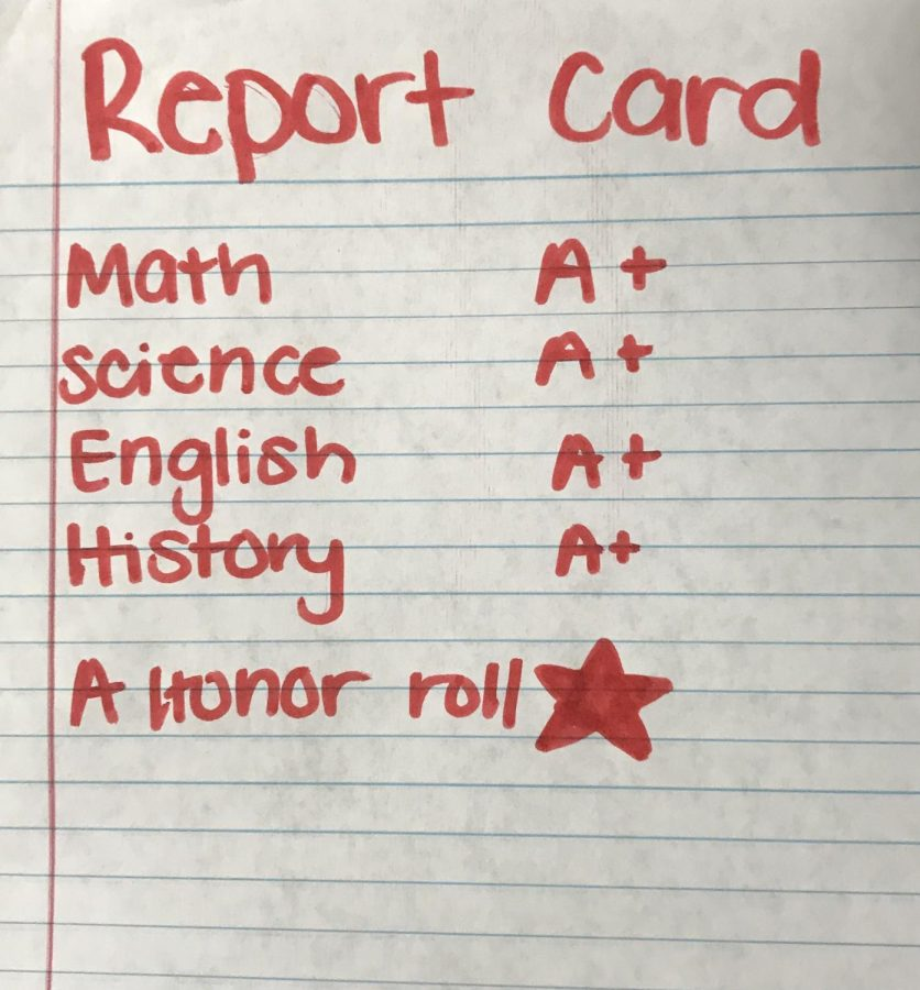 Hard work SHOULD pay off. A students giving all their effort to get A honor roll should receive some type of reward for their work. They will be much for motivated. Sophomore Ella Schirato said,