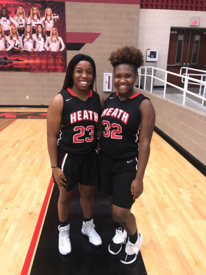 It%E2%80%99s+in+the+genes+%2F%2F+Rhonda+Giadolor%2C+pictured+here+with+fellow+teammate%2C+Makayha+Jenkins%2C+freshman.+Rhonda%2C+who+plays+many+sports%2C+says+that+she+gets+her+athletic+ability+from+her+family.+%E2%80%9CTruly+my+love+for+sports+came+from+my+brothers.+My+whole+life+I+watched+them+plays+sports+like+basketball+and+run+track+and+because+of+that%2C+I+had+a+strong+urge+to+go+out+of+my+way+and+play+sports+also.+I+believe+that+being+apart+of+a+sports+team+in+school+is+one+of+the+best+feelings+to+experience.%E2%80%9D+said+Rhonda+Giadolor%2C+sophomore.%0A