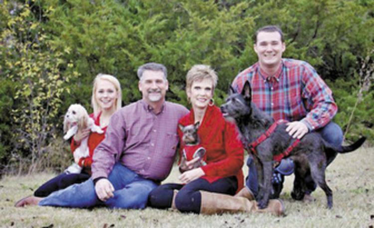#redforcolten // The Carney family posed together, before the fatal accident. Photo Credit: Rockwall Herald Banner(family photo)