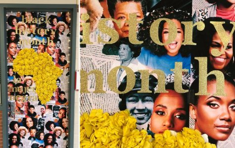 Black History Month // February is Black HIstory Month and adorning teachers' doors at Heath, you'll see the faces of prominent Black women. Image courtesy of Nina Myers.