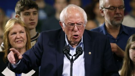 A Super Tuesday to Remember // Democratic U.S. presidential candidate Senator Bernie Sanders is accompanied by his relatives, including his wife Jane, as he addresses supporters at his Super Tuesday night rally in Essex Junction, Vermont, U.S., March 3, 2020 Caitlin Ochs | Reuters