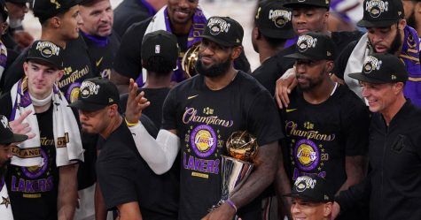 The Lakers are the 2019-2020 NBA Champions